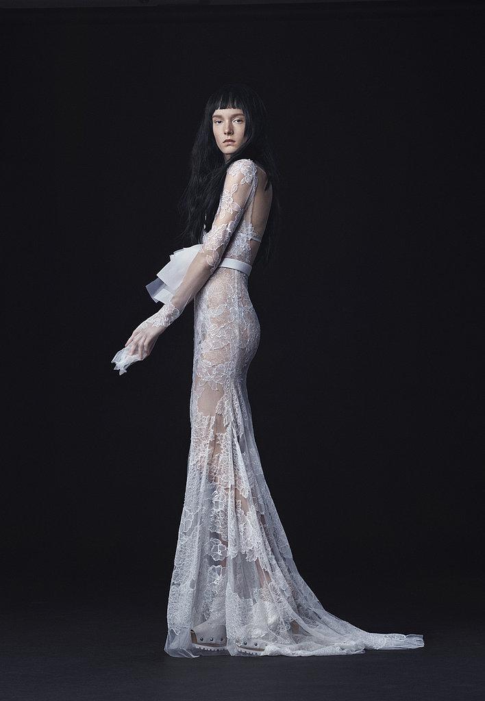 vera wang bridal fall 2016 sheer dress