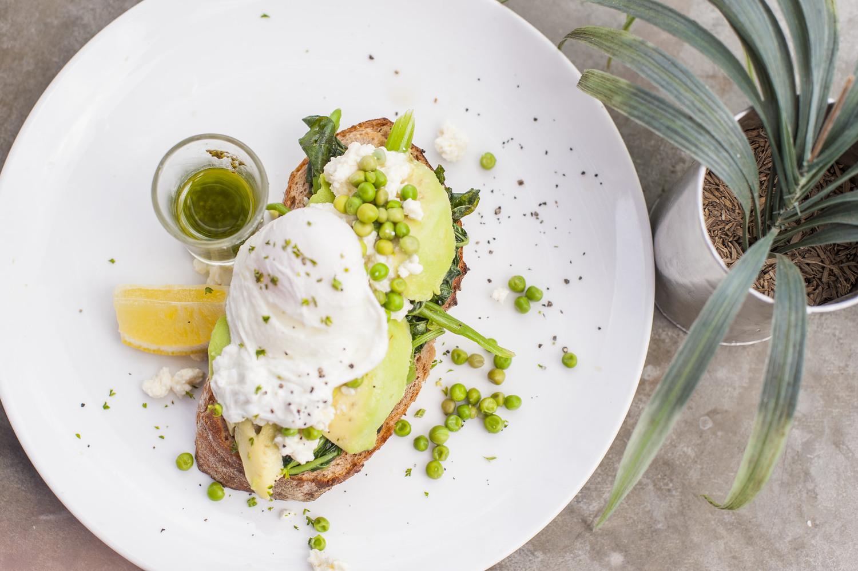 inside elsewhere avocado toast