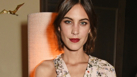 Alexa Chung's Lipstick Just Saved Our Social Lives | StyleCaster