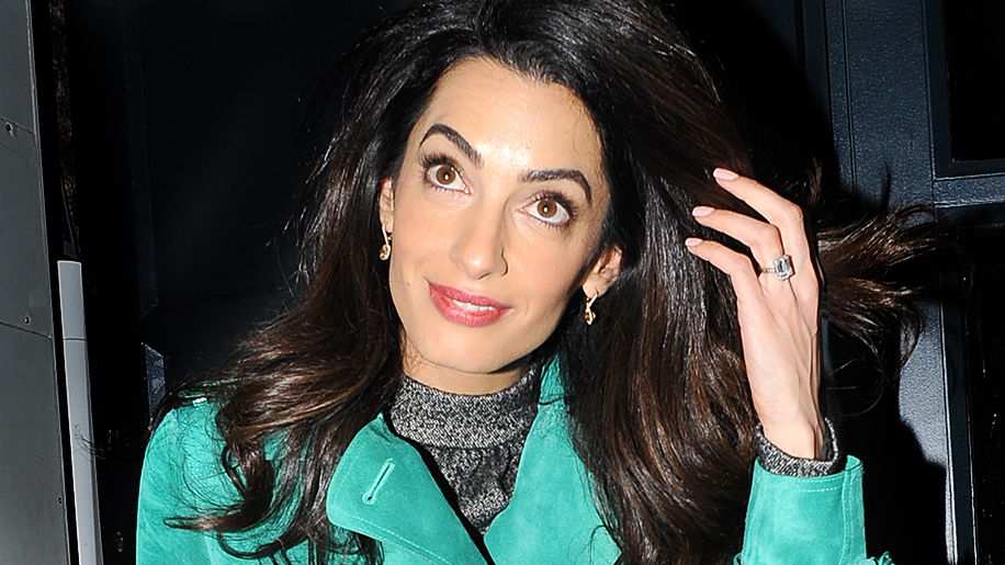 Why Amal Clooney S Smart For Downgrading Her Engagement Ring Stylecaster