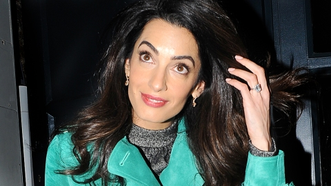 Why Amal's Downgrading Her Engagement Ring | StyleCaster