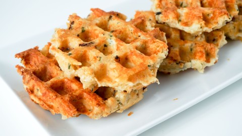 A Savory Waffle Recipe to Make This Weekend | StyleCaster