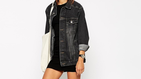 Black Denim Jackets Are Seriously Underrated | StyleCaster