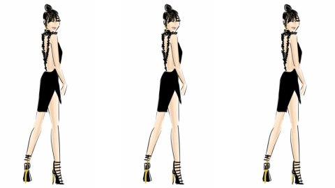 How to Turn Your #OOTD Into Fashion Illustrations | StyleCaster