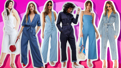 Denim Jumpsuits Are a Delightful Addition to Any Summer Wardrobe | StyleCaster