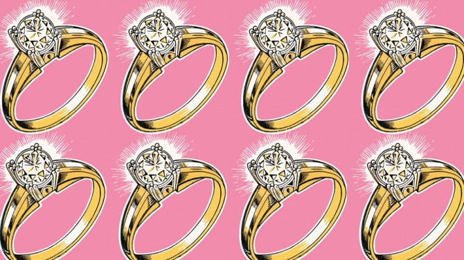 engagement ring pop art v1 Turn Your Emotional Baggage into Cash After a Breakup with This Smart Site