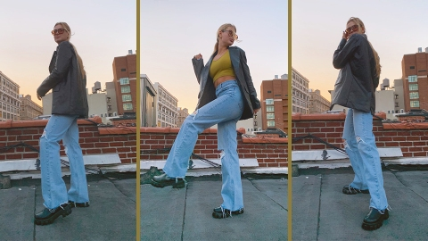 I Tried Styling Flared Jeans & Fell In Love With These 4 Pairs | StyleCaster