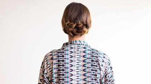 This Cool Rope-Twist Chignon Is Super Easy to Create | StyleCaster