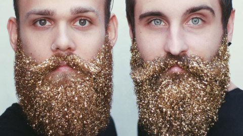 Glitter Beards Are Officially a Social Media Trend | StyleCaster