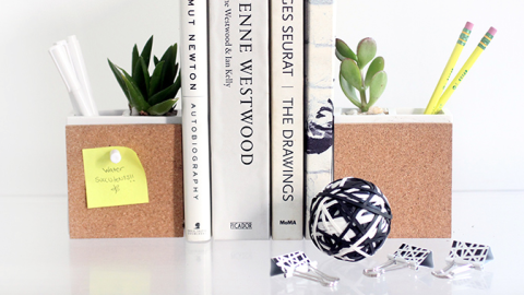 Weekend Project: This Cool Multitasking Desk Accessory | StyleCaster