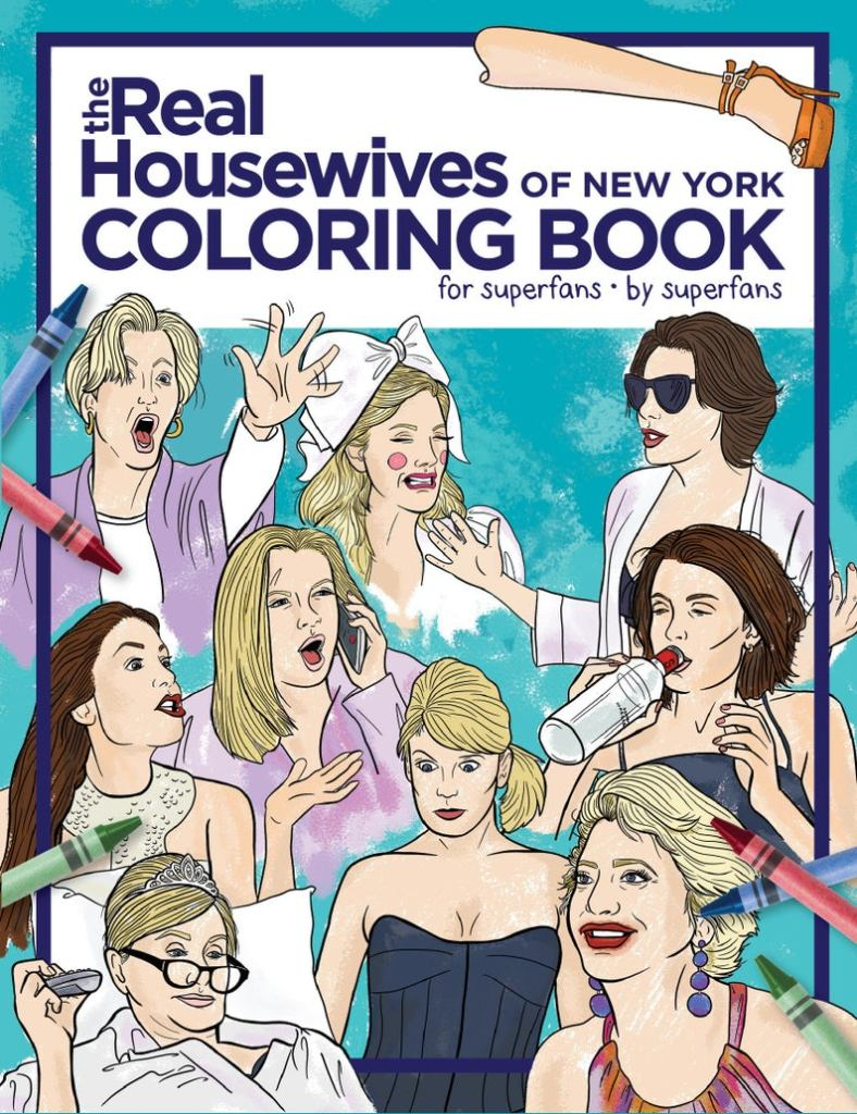 STYLECASTER | adult coloring book