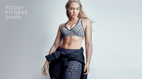 How a Body-Positive Model Approaches Food and Fitness | StyleCaster