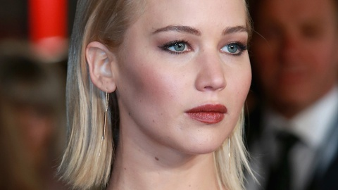 Found: J. Law's Perfect Brownish Berry Lipstick | StyleCaster