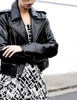 In Defense of the Faux-Leather Jacket