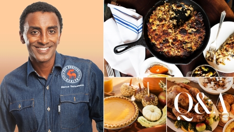 How Chef Marcus Samuelsson Celebrates Thanksgiving   StyleCaster