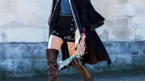 The Best Pairs of Flat OTK Boots to Buy This Fall | StyleCaster