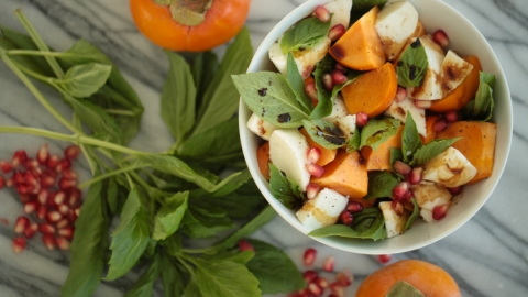 A Cold-Weather Take on the Caprese Salad | StyleCaster