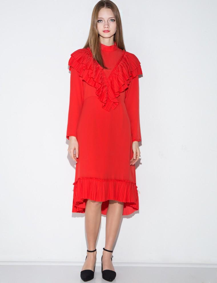 pixie-market-red-dress-gucci