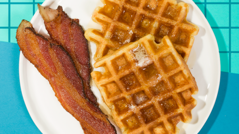 This Ricotta Waffle Recipe is Next-Level Delicious | StyleCaster