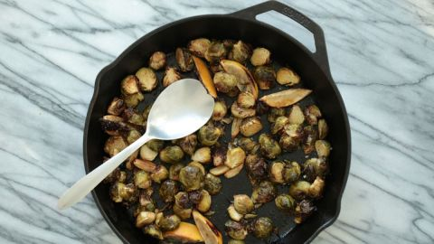 This Brussels Sprouts Recipe Is Next-Level Delicious | StyleCaster