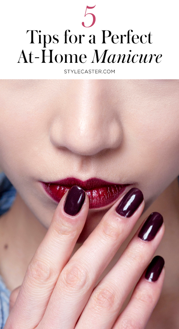 STYLECASTER   Manicure Tips   Pin it!