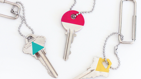 Found: The Coolest Way to Never Mix Up Your Keys Again | StyleCaster