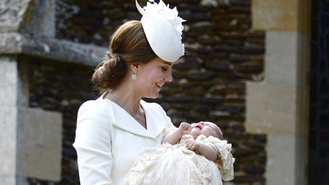 Kate Middleton Releases New Pics of Princess Charlotte!  | StyleCaster