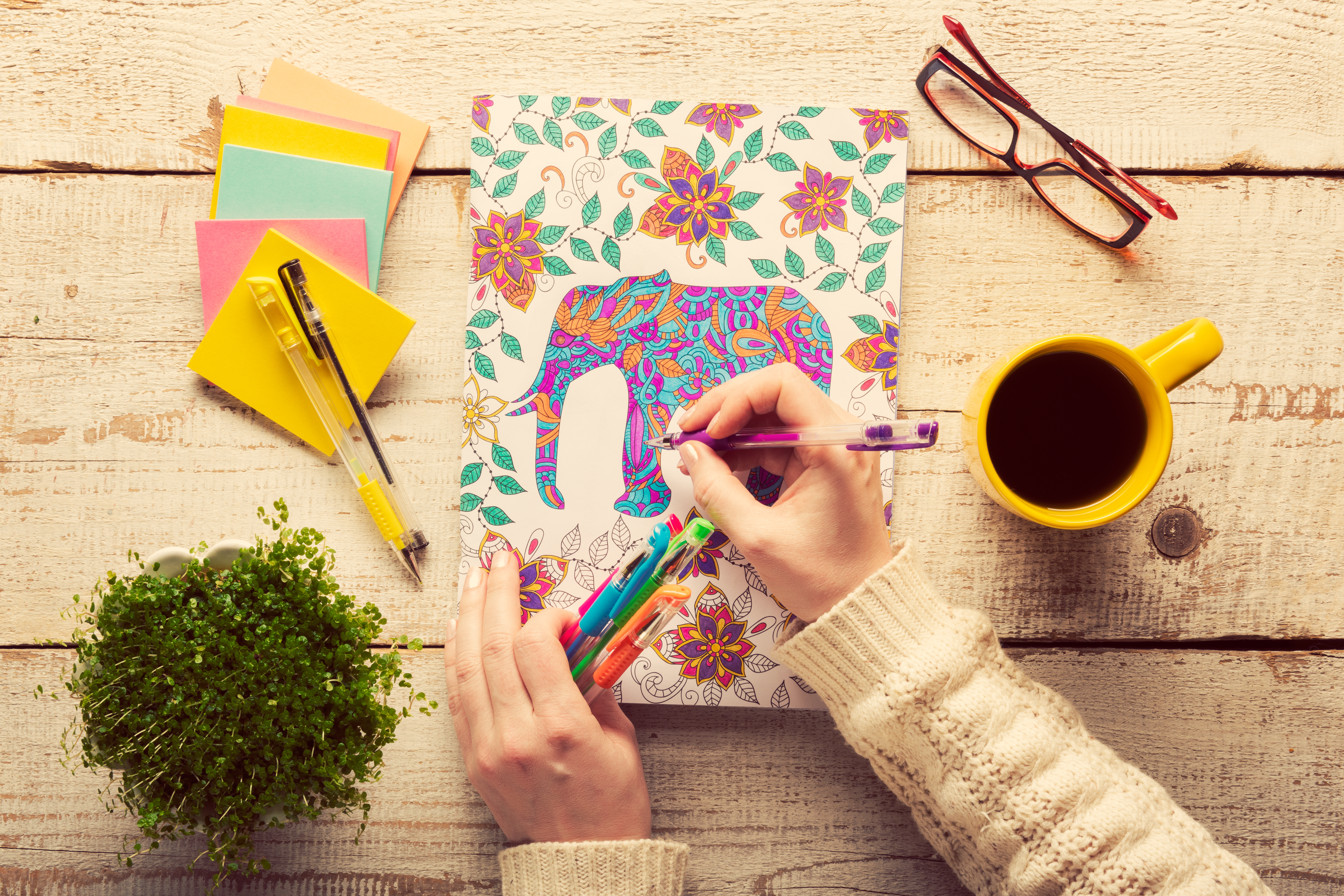 15 Adult Coloring Books To Help Manage Your Stress In A Creative Way