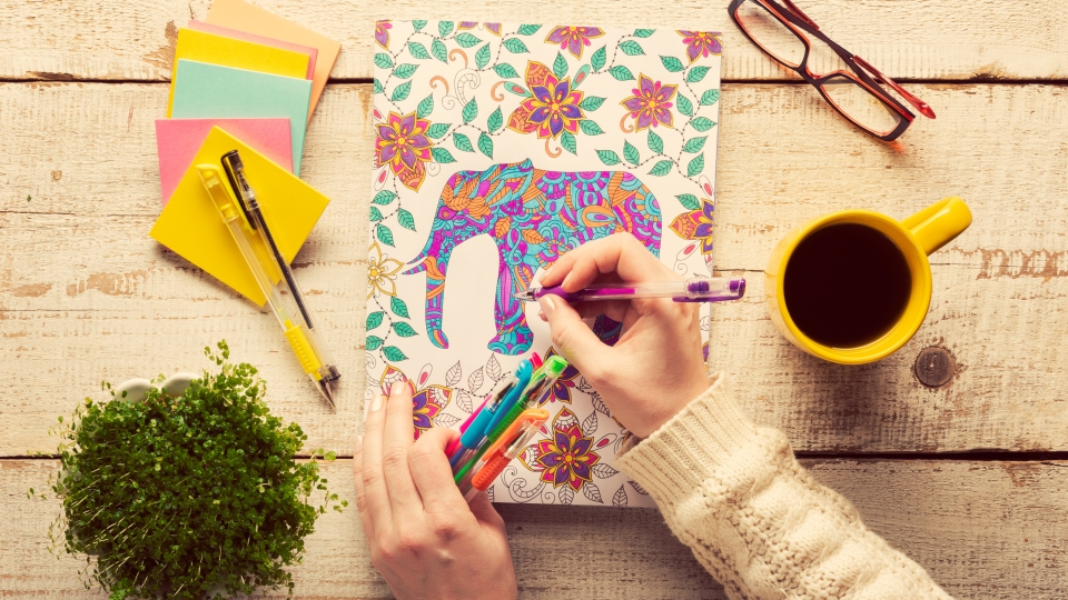 15 Adult Coloring Books To Help Manage Your Stress In A Creative Way | StyleCaster