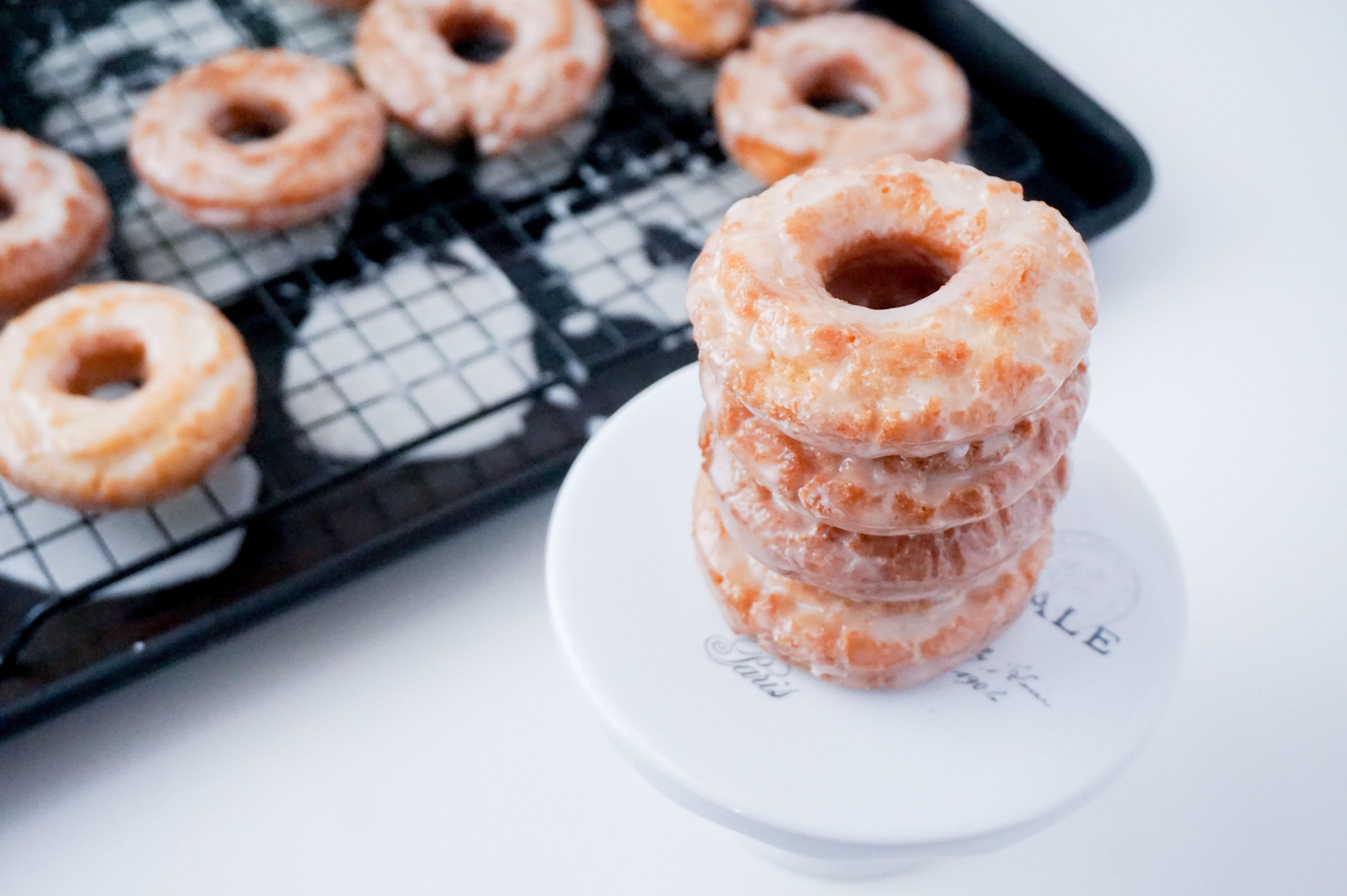 neurotic baker sour cream donuts