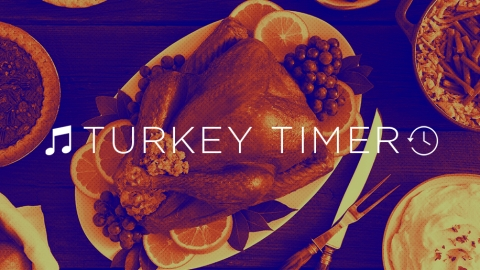 Behold: A 'Turkey Timer' Playlist to Help Cook Your Bird | StyleCaster