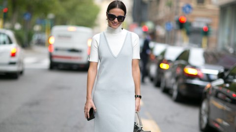 The Genius Way to Wear Summer Dresses Through Fall   StyleCaster
