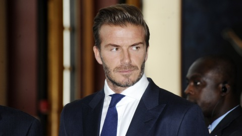 David Beckham: 'People' Magazine's Sexiest Man Alive | StyleCaster
