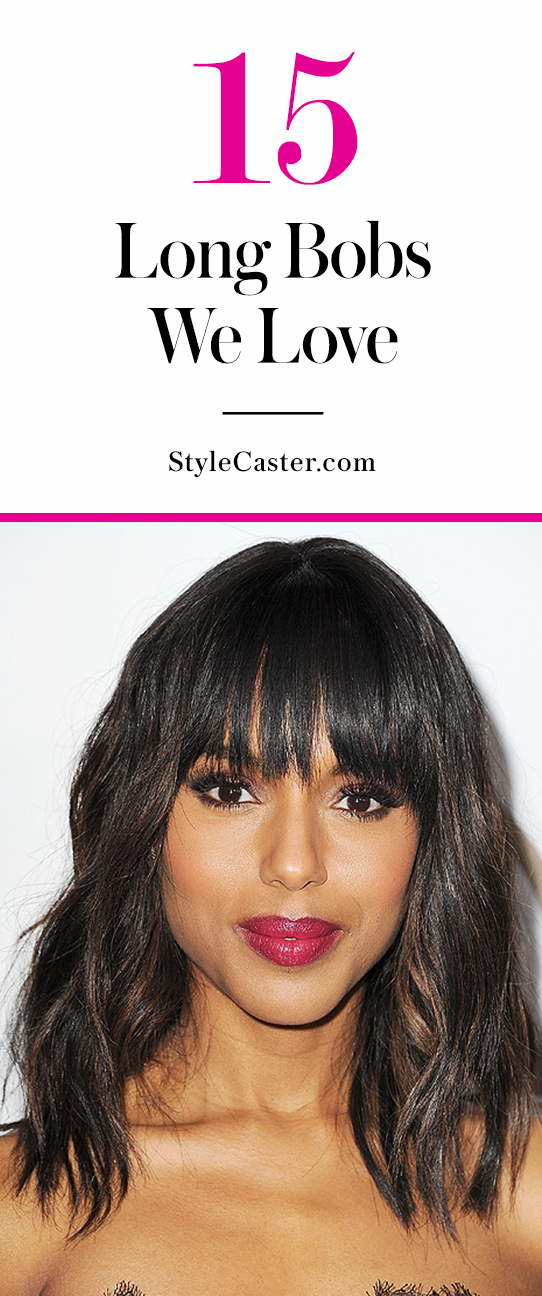 The 15 best celebrity long bob haircuts | @stylecaster
