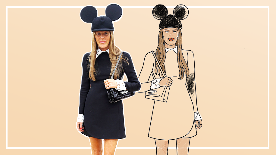 Adult Coloring Book Street Style Stars