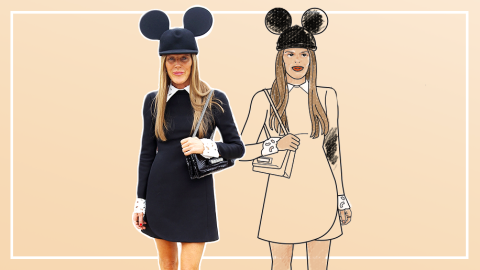Street Style Stars Get the Adult Coloring Book Treatment | StyleCaster