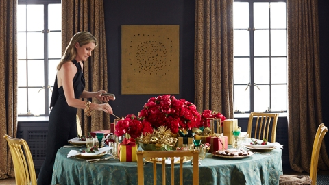 How to Host a Holiday Party Like Aerin Lauder | StyleCaster