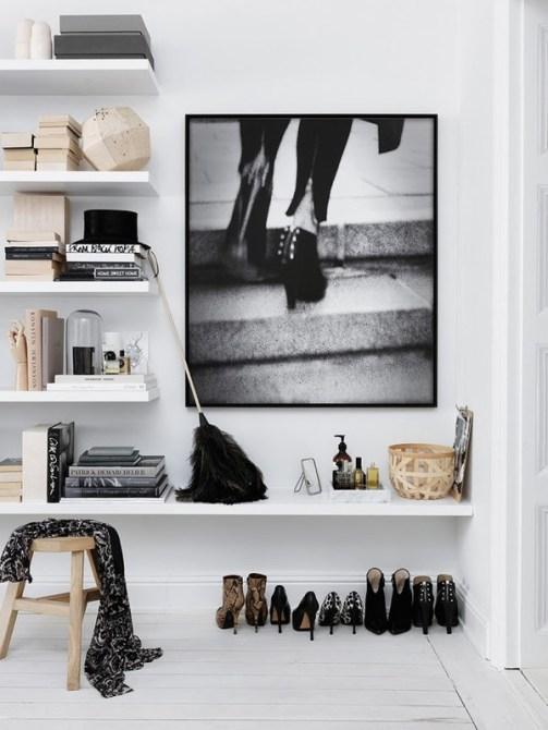 shoe organization closets