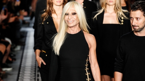 Welcome to Instagram, Donatella Versace! | StyleCaster
