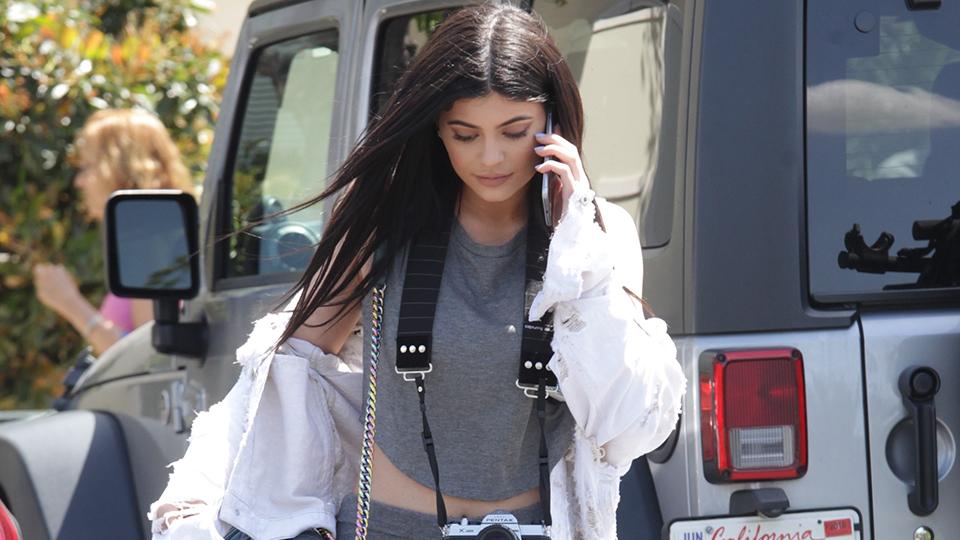 Kylie Jenner's Street Style