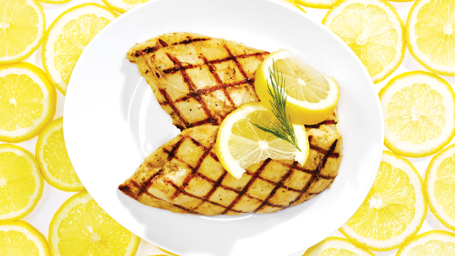 Lemon Dill Grilled Chicken Recipe