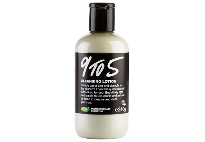 lush 9 to 5 No Rinse Cleansers Could Be Your Ticket to Glowing Skin