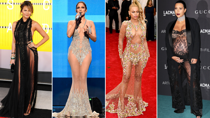 The 23 Most Naked Red Carpet Dresses of 2015