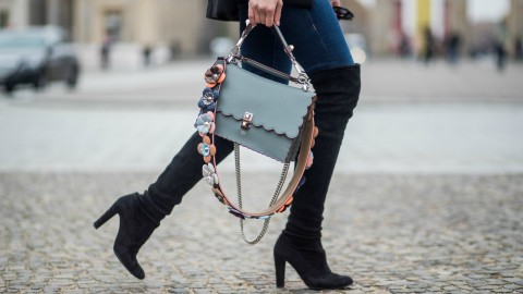 25 Ways to Wear Your OTK Boots All Winter | StyleCaster