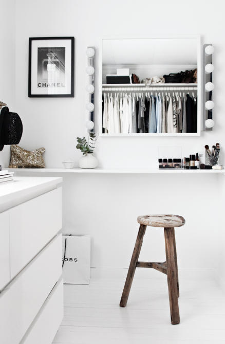 walk in closet on a budget
