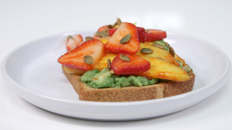 Michael Chernow's Upgraded Avocado Toast | StyleCaster