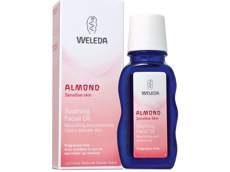 weleda almond soothing facial oil The 10 Beauty Oils You Should Be Using This Winter: A Head to Toe Guide