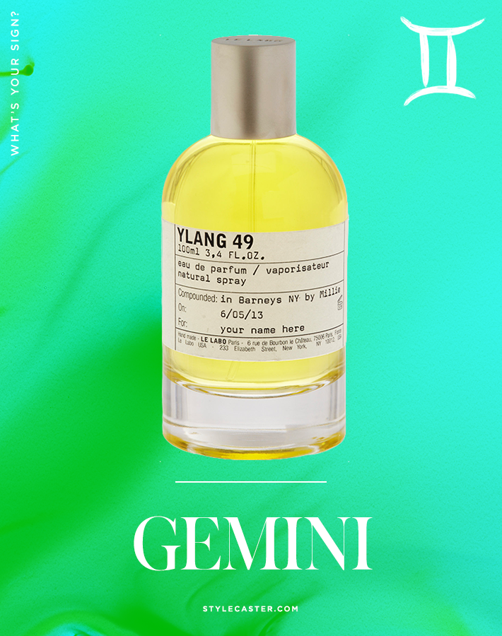3 gemini The Best Signature Scent for You, According to Your Zodiac Sign