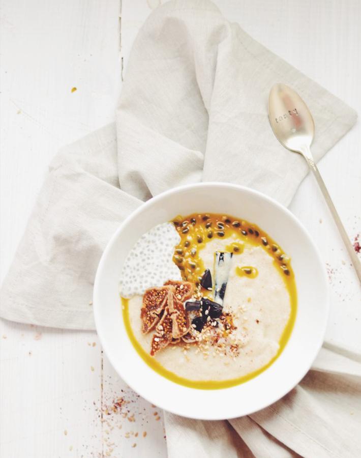 Fanny the foodie semolina porridge