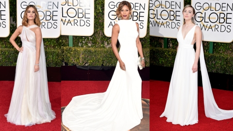 Bridal Inspiration from the Golden Globes Red Carpet | StyleCaster